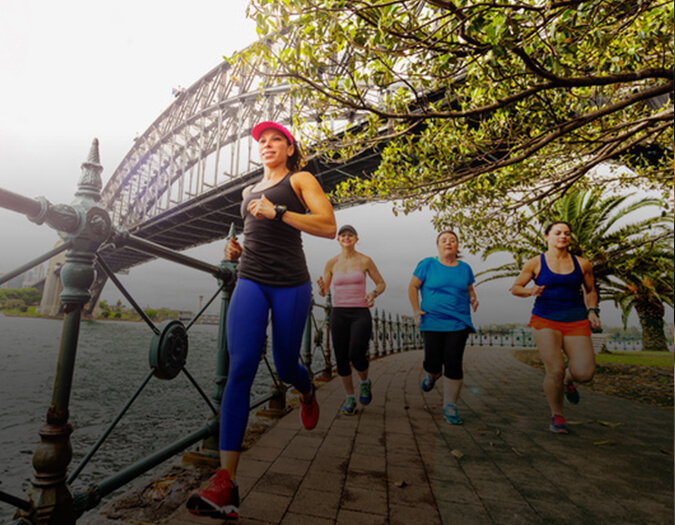 Running/Walking  Tours of Sydney